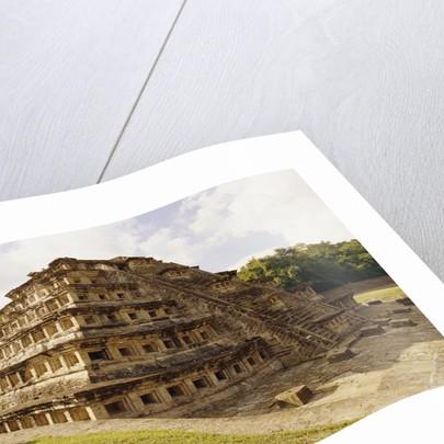 Pyramid of the Niches at El Tajin by Corbis