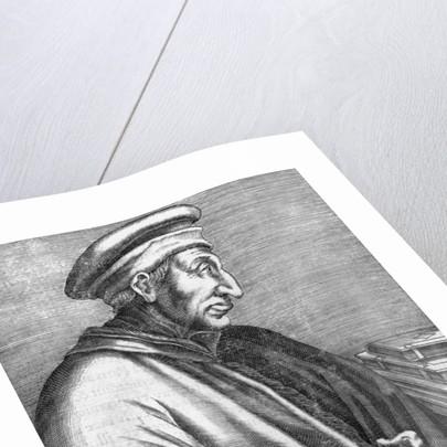 Engraving of Cosimo de Medici by Corbis