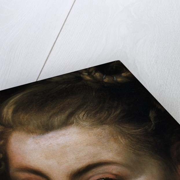 Detail of Face from Isabella Brant as Glycera by School of Peter Paul Rubens