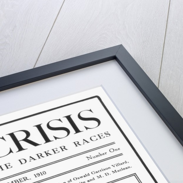 Cover of the First Issue of The Crisis by Corbis