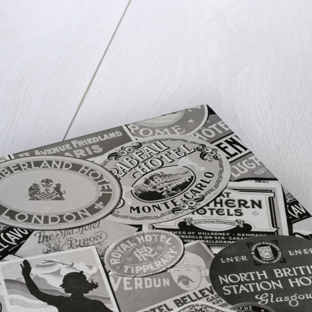 European Hotel Labels by Corbis