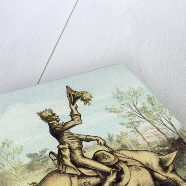 Andrew Jackson Riding Pig by Corbis