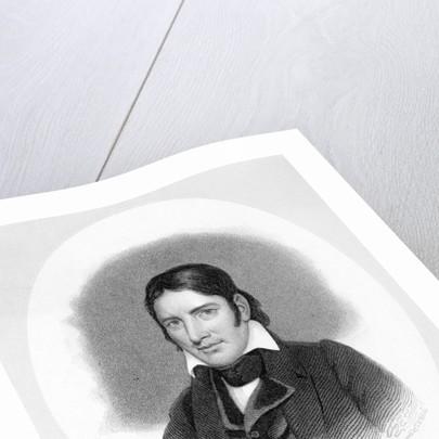 Portrait of Frontiersman David Crockett by Corbis