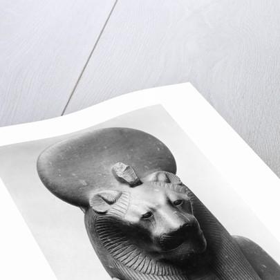 Statue of Sekhmet, Egyptian Lion Goddess by Corbis
