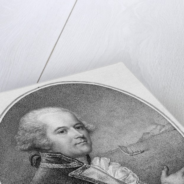 Head and Shoulders Portrait of Captain William Bligh by Corbis