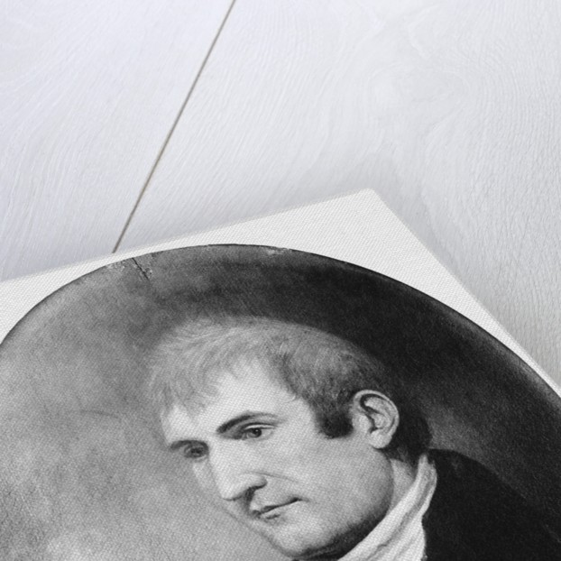 Painted Portrait Of Meriwether Lewis by Corbis