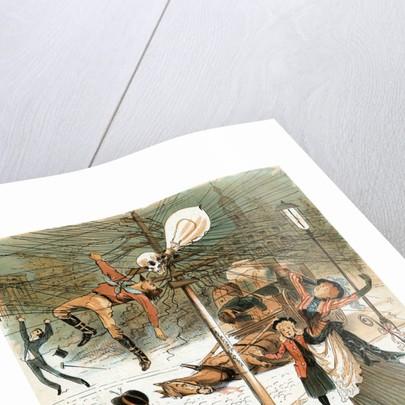 An Unrestrained Demon Illustration by Corbis