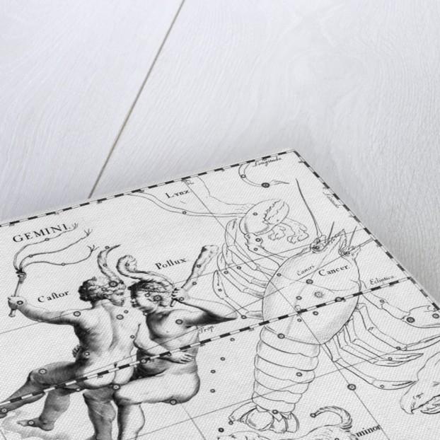 Engraving Of Constellation Gemini by Corbis