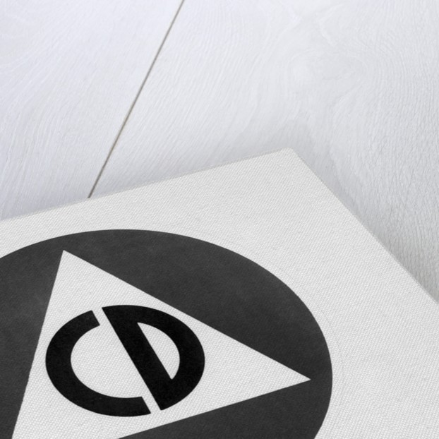 Civil Defense Logo - Encircled Triangle by Corbis
