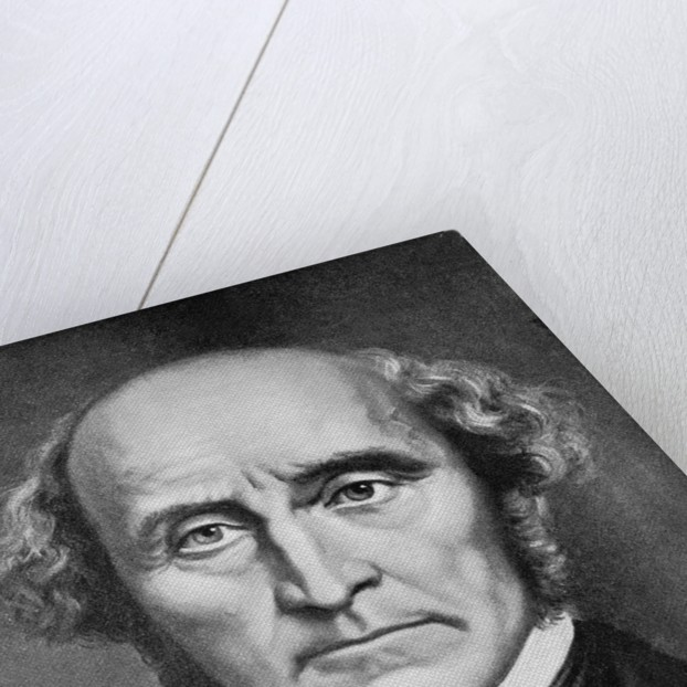 Portrait John Stuart Mill by Corbis