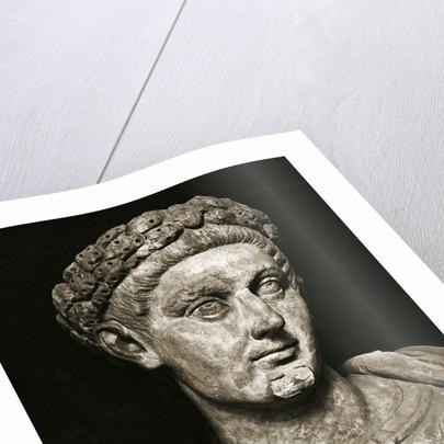 Head/Shoulders Sculpture Of Constantine by Corbis