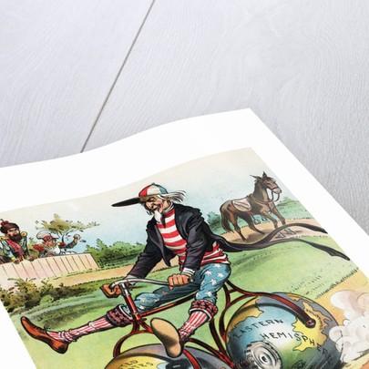 Coasting Political Cartoon by Victor Gillam