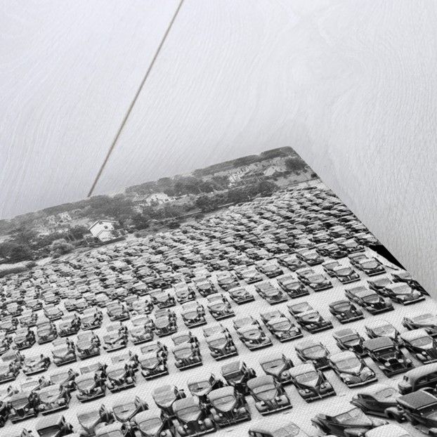 Crowded Parking Lot by Corbis