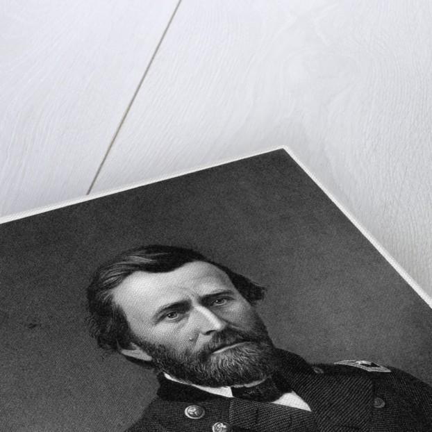 Portrait Print of General Ulysses S. Grant by Corbis