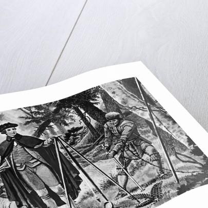 George Washington As A Surveyor by Corbis