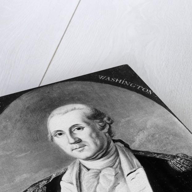 Painting Of George Washington by Corbis