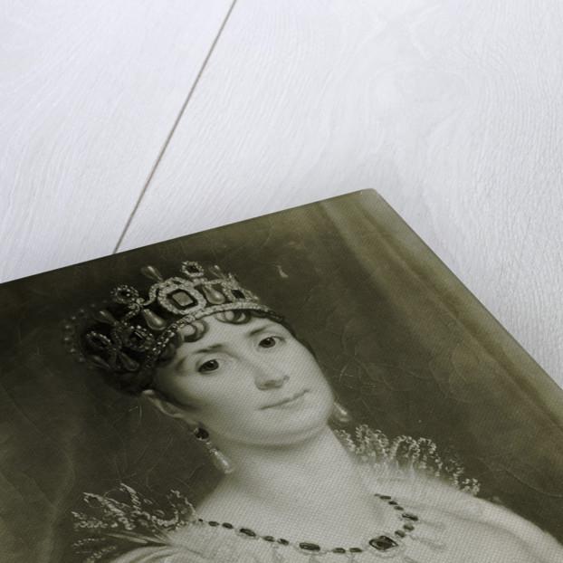 Portrait Of Josephine De Beauharnais by Corbis