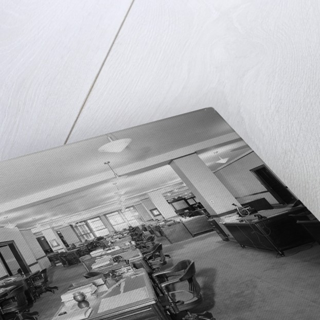 Interior Of An Office Building by Corbis