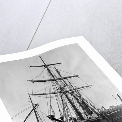Ernest Shackleton's Ship in Drydock by Corbis