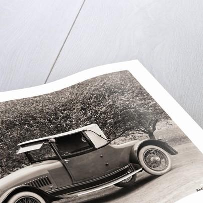 1918 Hudson Runabout Landau by Corbis