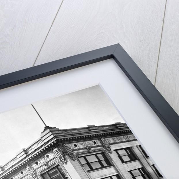 Unidentified Department Store On Corner by Corbis