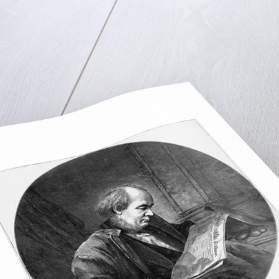 Horace Greeley by C.D. Fredericks