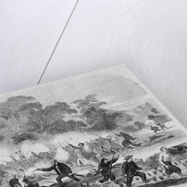 Attack on English Sailors by Corbis