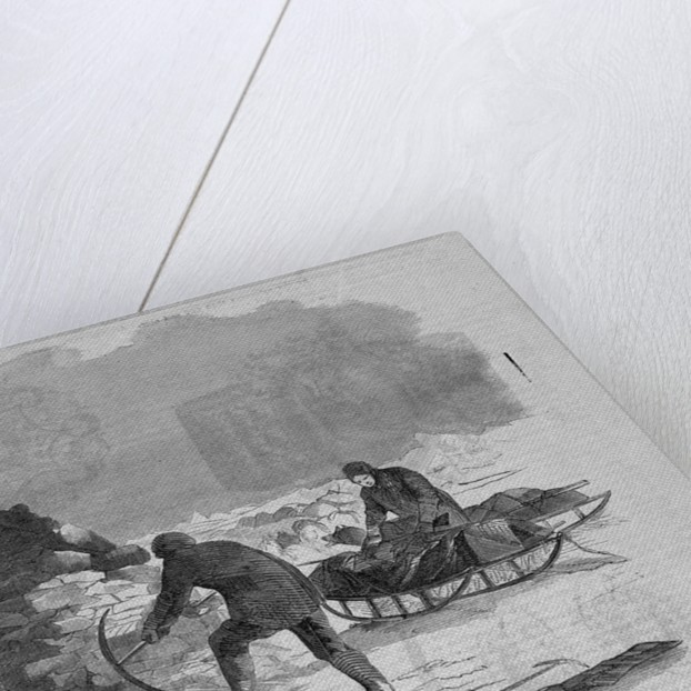 Franklin Expedition Cairn by Corbis