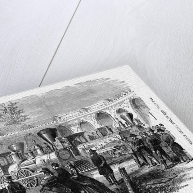 Civil War Locomotives by Corbis