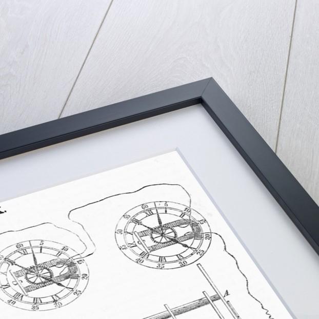 Hall's Telegraph Clock by Corbis