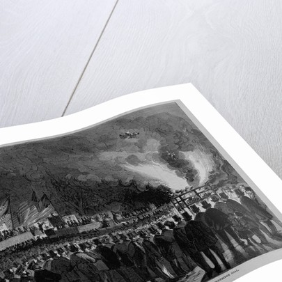 Buchanan and Breckenrige Ratification Meeting, in the Park, N. Y., Bonfire of Breckenrige Coal by Corbis