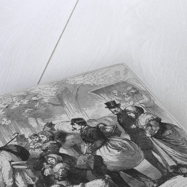 The exodus from St. Cloud by Corbis