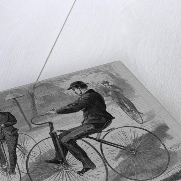 The american velocipede by Theodore R. Davis
