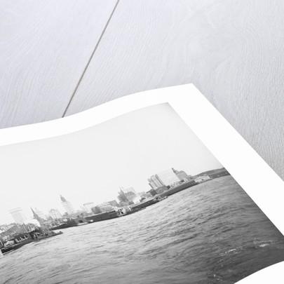 View of Manhattan Skyline by Corbis