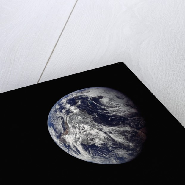 Earth Seen From Space by Corbis