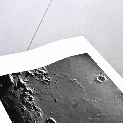 Craters on the Moon's Surface by Corbis