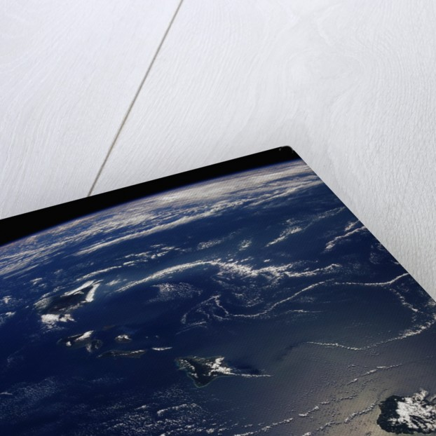 Hawaii From Space by Corbis