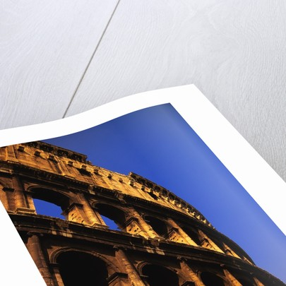 Close-Up View of the Colosseum by Corbis