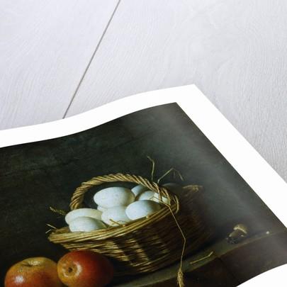 Basket of Eggs by Henri Horace Rolland Delaporte