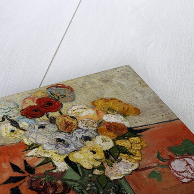 Roses and Anemones by Vincent Van Gogh