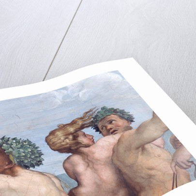 Detail Showing Figures from Galatea by Raphael