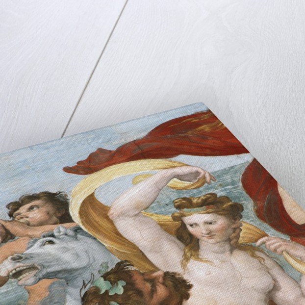 Fresco Depicting Nymphs and Centaurs by Corbis