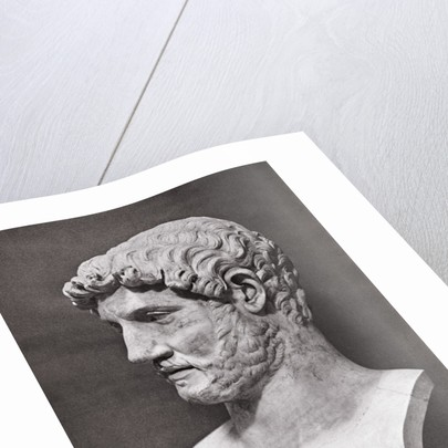 Profile of Hadrian Bust by Corbis
