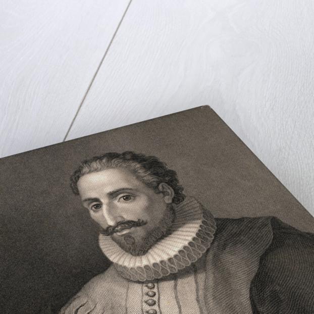 Portrait of Miguel de Cervantes Saavedra by Corbis