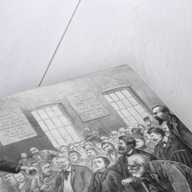 Anarchist Sunday School by Corbis