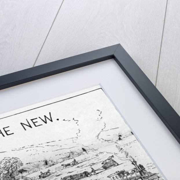 The Old Way, and the New Illustration by Corbis