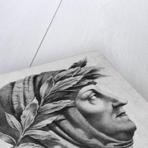 Portrait of Francesco Petrarch by Corbis