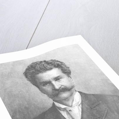 Engraving of Johann Strauss by Corbis