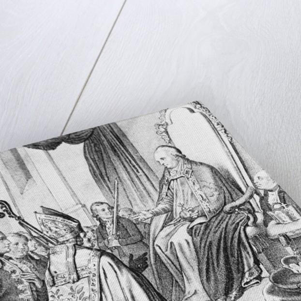 Crowning Leopold II Emperor by Corbis