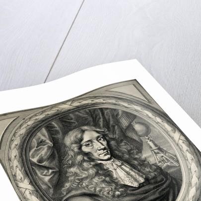Engraving of Robert Boyle by William Faithorne